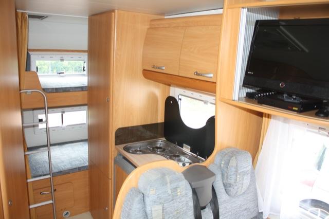 camping car 3 lits superposes