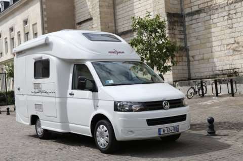 camping car 5 places neuf