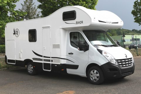 camping car 6 places neuf