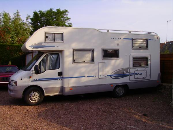 camping car 6 places occasion