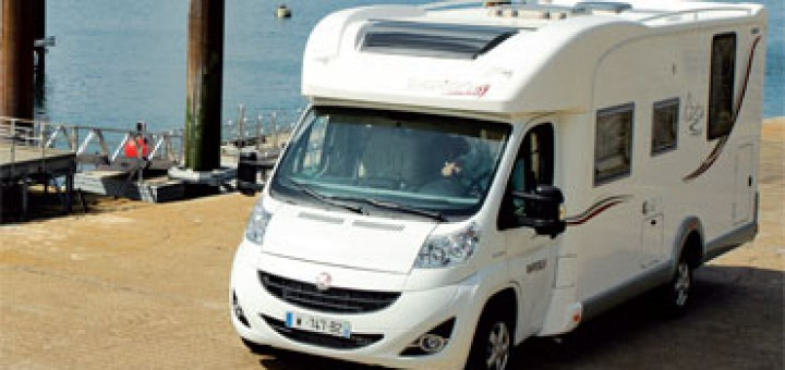 camping car 7 m lit central