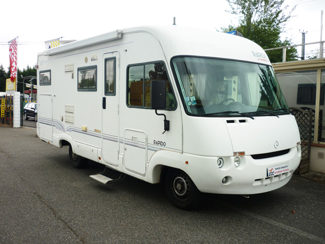 camping car 962m rapido integral