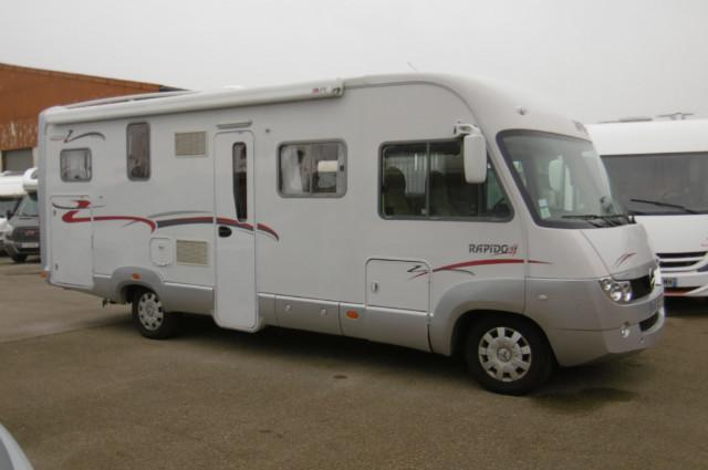 camping car 996m rapido mercedes 2 2l 150cv
