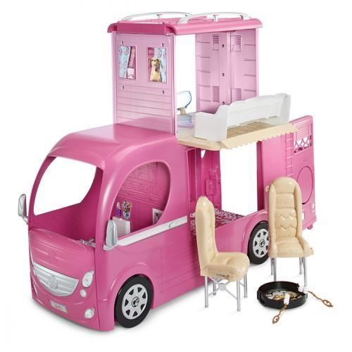 camping car barbie cdiscount