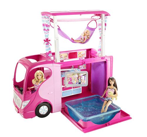 camping car barbie occasion