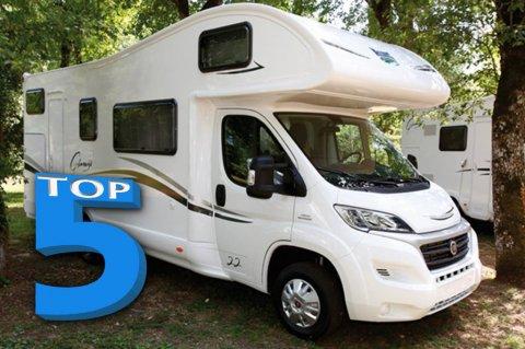 camping car capucine 5 places