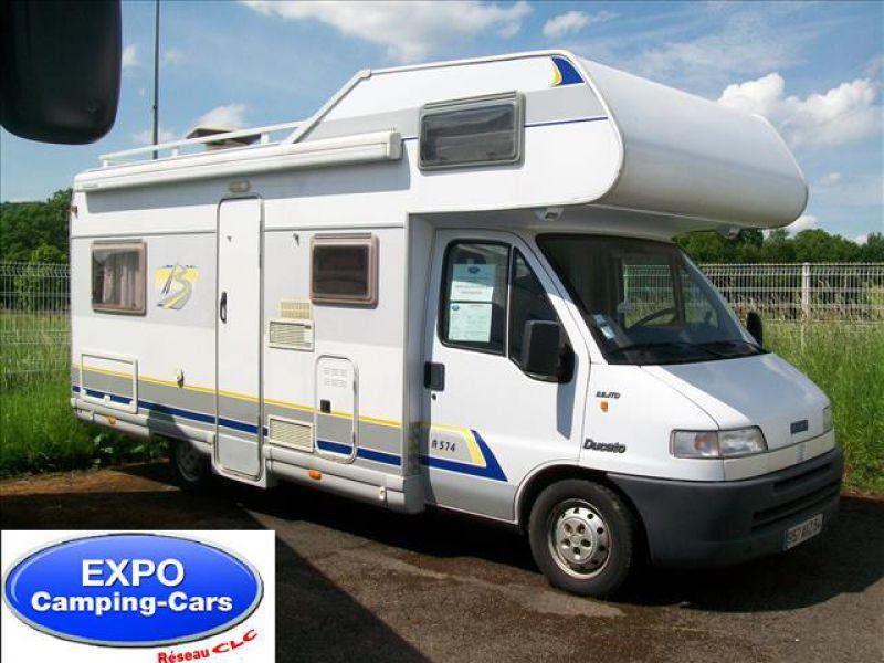 camping car capucine 7 m