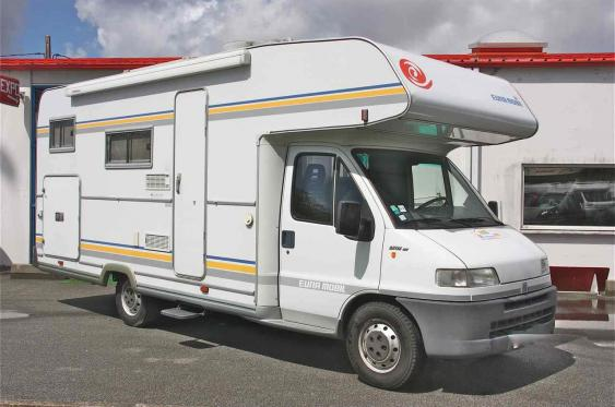 camping car capucine d'occasion