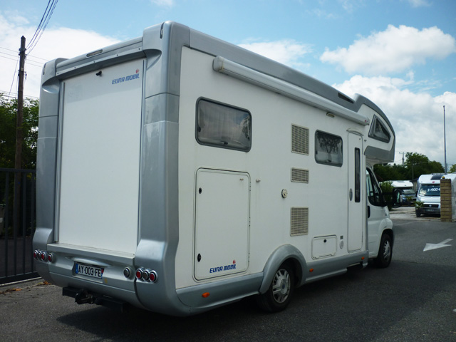 camping car capucine double plancher