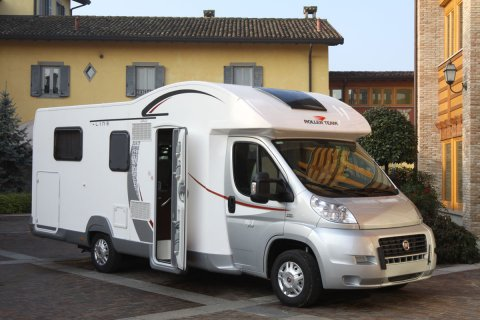 camping car capucine et lit central
