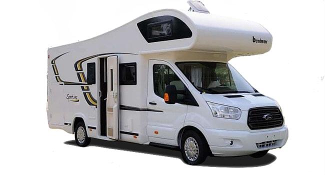 camping car capucine integral profile