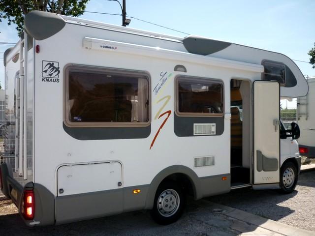camping car capucine knaus occasion