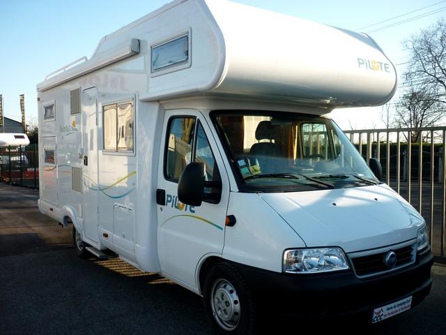 camping car capucine pilote aventura