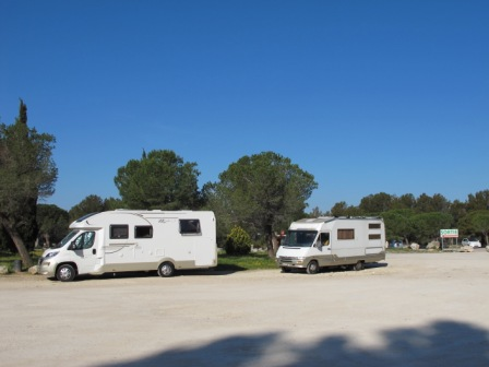 camping car dans le var