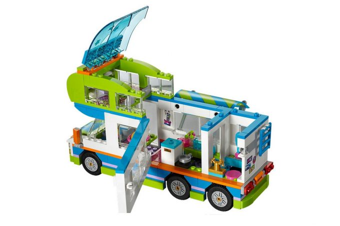 camping car de mia lego