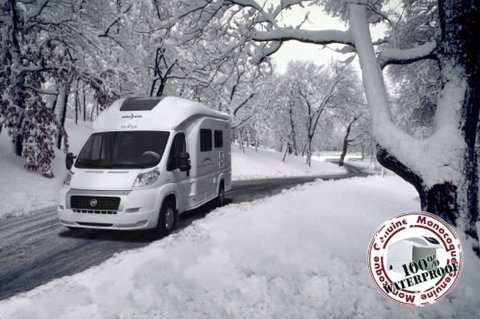 camping car equipe pour l'hiver
