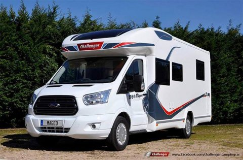 camping car ford challenger