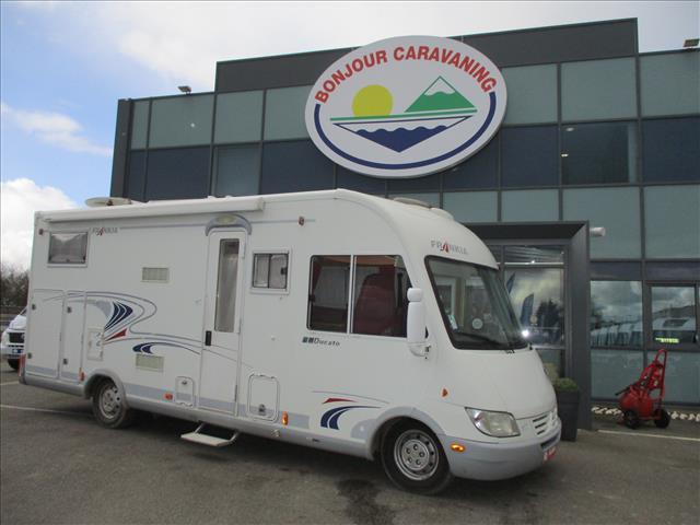 camping car frankia occasion