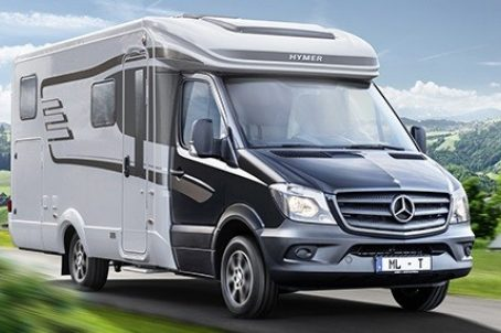 camping car hymer mercedes