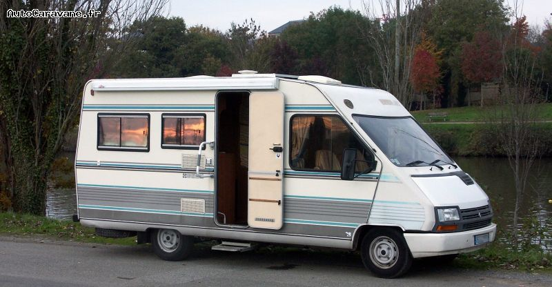 camping car integral 1990