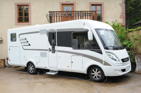 camping car integral 3 places