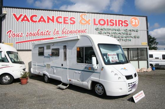 camping car integral 3l 160cv