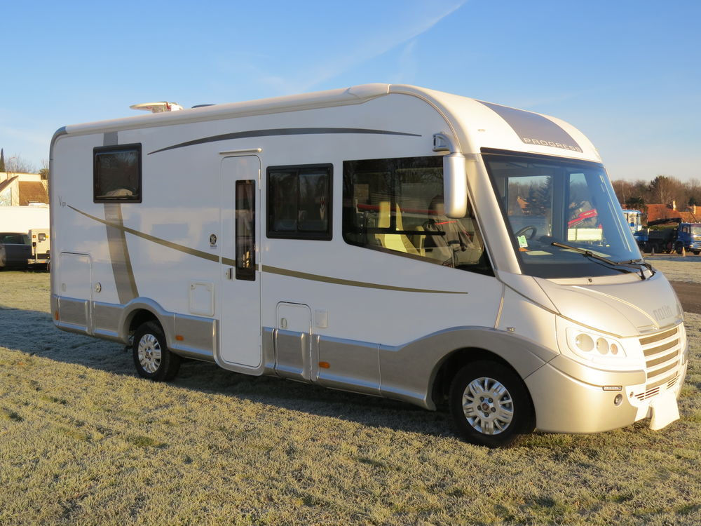 camping car integral 4 places occasion