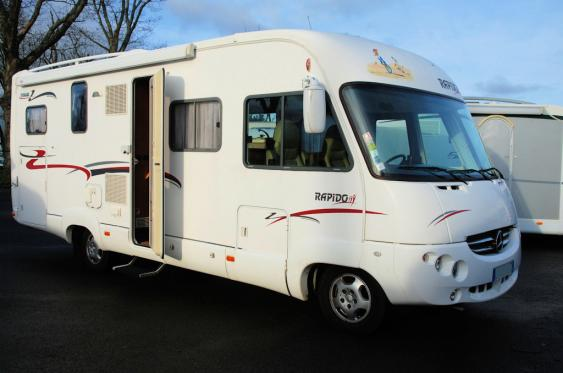 camping car integral 5 places occasion