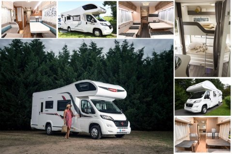 camping car integral 6 places carte grise