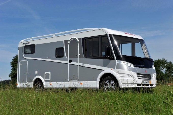 camping car integral 8 places