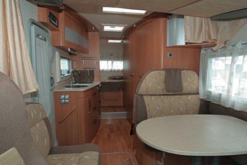 camping car integral adriatik vision 707 sg