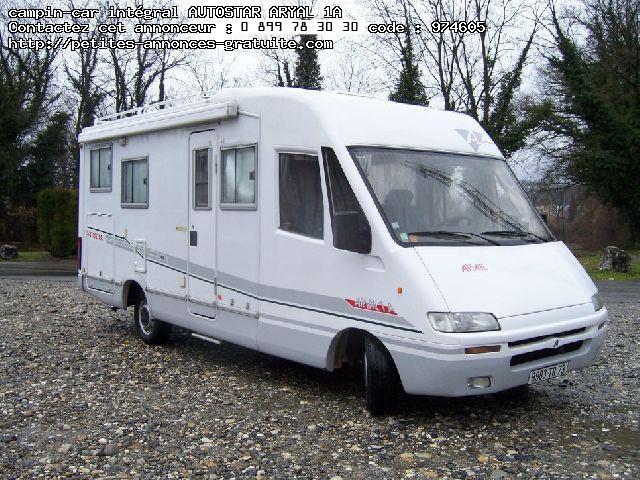 camping car integral autostar aryal 1