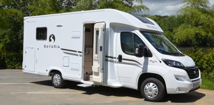 camping car integral bavaria 2018