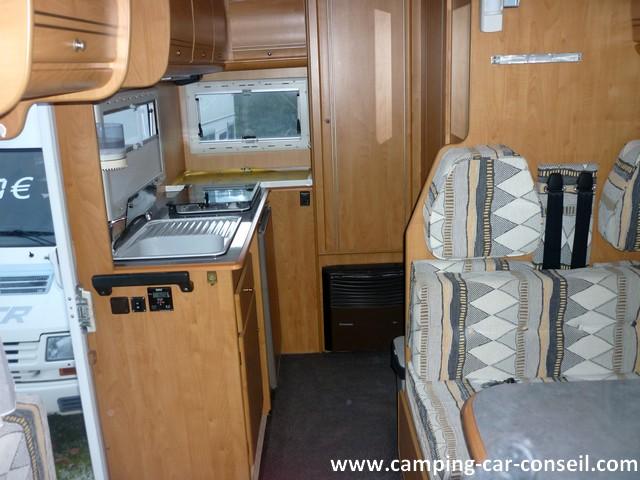 camping car integral bavaria i 595 porteur ford