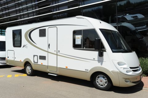 camping car integral burstner viseo i 726