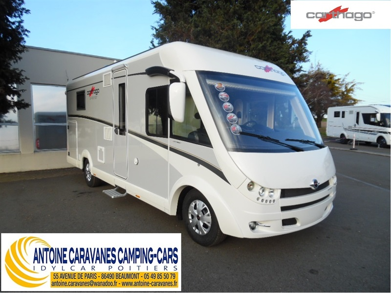 camping car integral carthago occasion