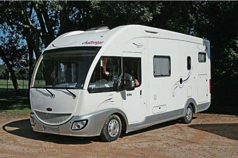 camping car integral challenger