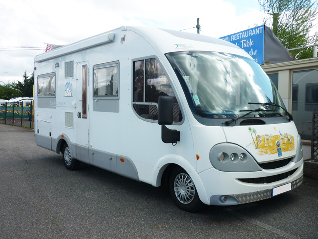 camping car integral chassis alko