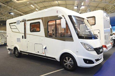 camping car integral compact hymer b 584