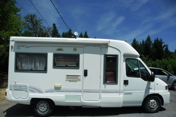 camping car integral d'occasion rapido