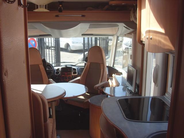 camping car integral de 2004 burstner elegance 690 i