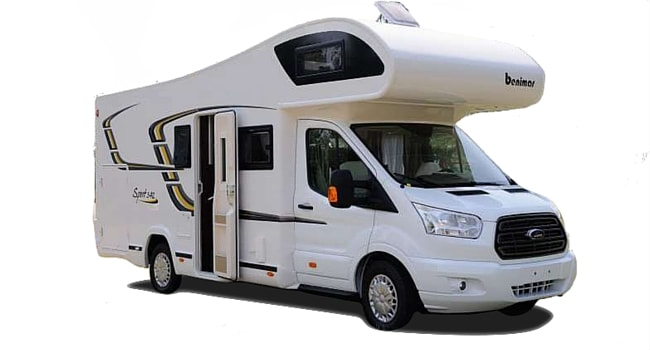 camping car integral definition