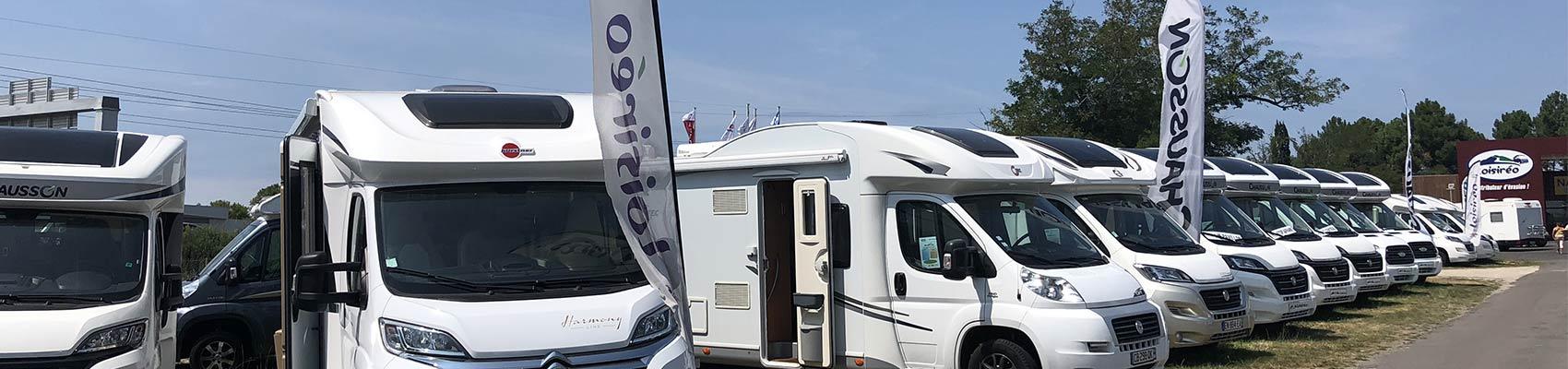 camping car integral destockage