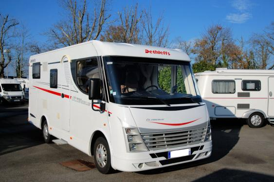 camping car integral dethleffs occasion