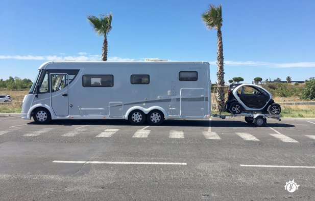 camping car integral double essieux
