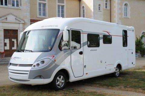 camping car integral fleurette discover 73 lm