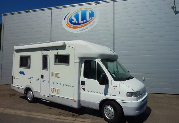 camping car integral fleurette type 72 slb