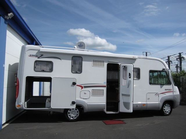 camping car integral garage