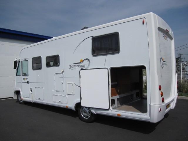 camping car integral grande soute