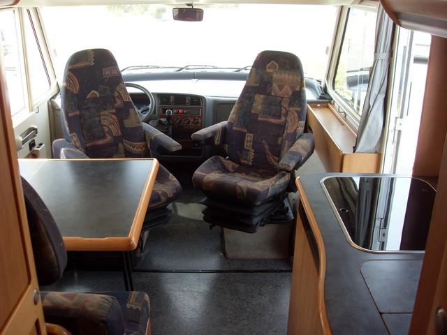 camping car integral hymer b 524